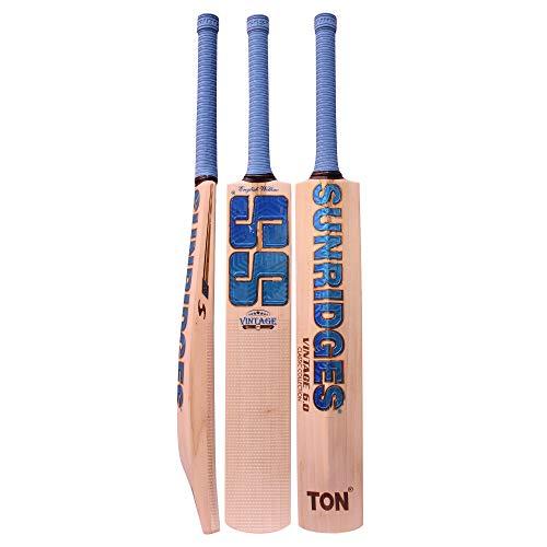SS Vintage Edition 6.0 English Willow Premium Cricket bat - Men's Size - Short Handle