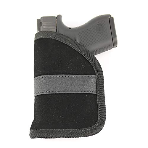 ComfortTac Ultimate Pocket Holster | Ultra Thin for Comfortable Concealed Carry | Fits Pistols and Revolvers from Glock Ruger Taurus Smith and Wesson Kimber Beretta and More