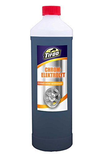 Chromelektrolyt (5000 ml) - Galvanisch verchromen, Stiftgalvanik