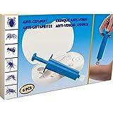 1a-becker Anti Giftset 6-TLG. Insektengift Entferner Vakuumpumpe Zeckenzange Insektenschutz erste Hilfe