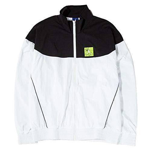 Nike Air Jordan Tinker Legacy Windbreaker Jacket White Black Size L