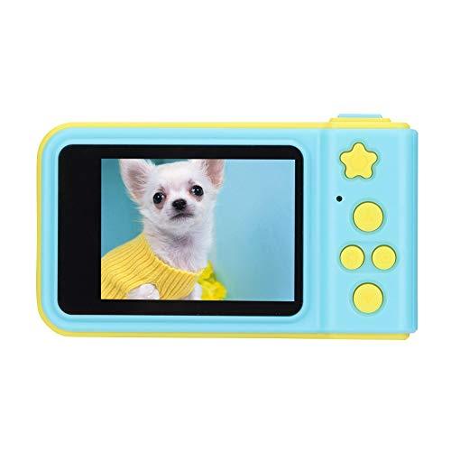 ASHATA digitale camera voor kinderen, 2,0 inch kleurendisplay Draagbaar mini-ABS Schattige kinderen Kinderen Digitale SLR-camera Geschenk SLR-camera, bediening met één knop Kinderen-videocamera