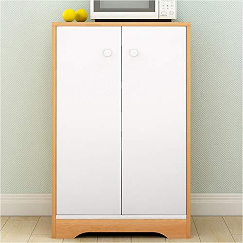 Moderne kleine keuken voor het inrijgen van het huishouden, eenvoudig imitatie, hout, bedrijf, wijn en thee, multifunctionele meubel, 50 x 30 x 81 cm, XMJ