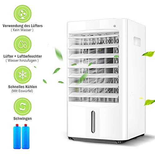 Klimaanlage Lüfter Air cooler Luftbefeuchter Tragbare,Klimaanlage mit 3- Gang-Kaltwind-Bürodesktop air cooler fan für zuhause, zuhause, küche, draußen