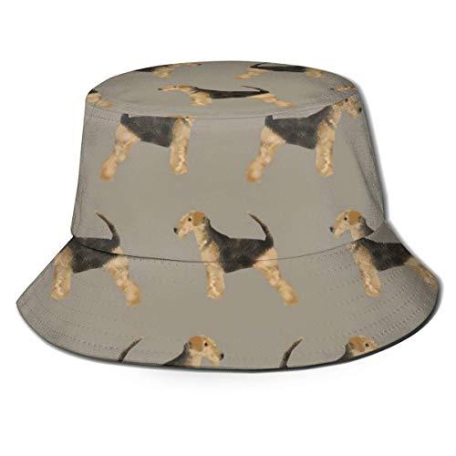Maquillaje cosmético Patrón Perfume Lápiz Labial Camping Sombrero de Pescador, Sombrero de Sol Unisex Ocio Protector Solar Sombrero de Cubo