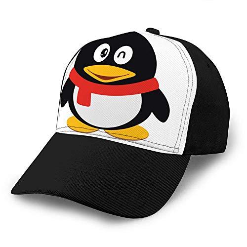 Xinfub, berretto da baseball unisex, in cotone, regolabile, con visiera