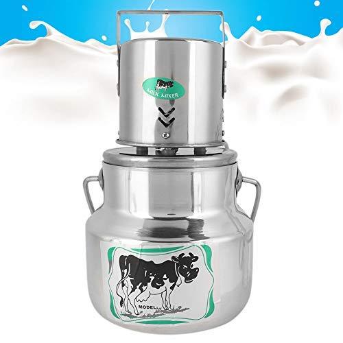 HEEPDD 3L melk-mixer van roestvrij staal en aluminiumlegering, voor crème, automatisch, elektrisch, voor boerderijen, EU 220 – 240 V