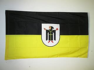 AZ FLAG Munich Flag 3' x 5' for a Pole - Munich in Germany Flags 90 x 150 cm - Banner 3x5 ft with Hole