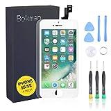 bokman Display Reparaturset kompatibel mit Weiß iPhone 5s/SE (inkl. Glas, Retina LCD, Touchscreen), Passendes Profi-Werkzeugset enthalten