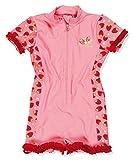 Playshoes UV-Schutz Einteiler Erdbeeren Maillot Une Pièce, Rose (Original 900), 98 (Taille Fabricant: 98/104) Fille