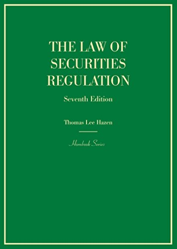 The Law of Securities Regulation (Hornbooks) (English Edition)