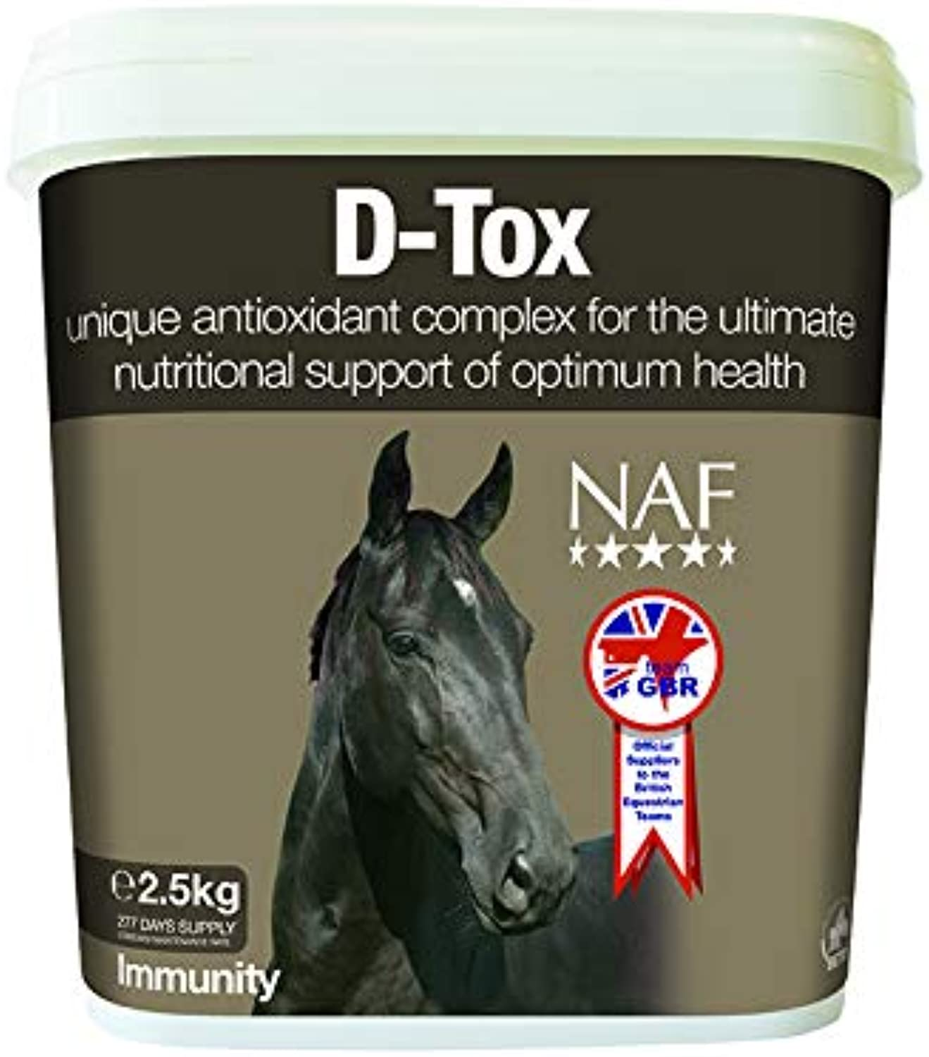 Natural Animal Feeds Unisex's NLF0051 NAF Dtox, Clear, 2.5 kg
