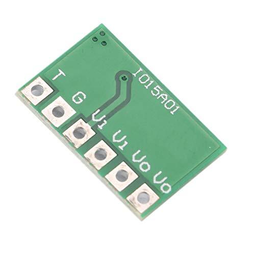 Tablero de gatillo autoblocante, gatillo autoblocante biestable de pestillo 6A DC 2.5V-6V Módulo de Interruptor de Bloqueo Flip-Flop Estable y Duradero para Placa de Desarrollo MCU