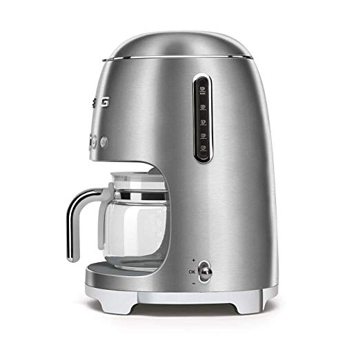 Smeg dcf02sseu Cafetière à filtre, INOX Brossé