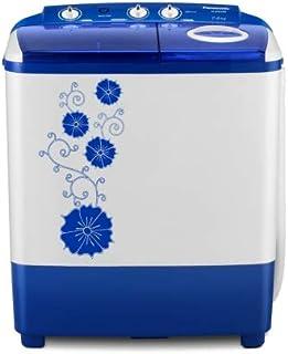 Panasonic 7 Kg Semi-Automatic Top Loading Washing Machine (NA-W70L5ARB, Blue)
