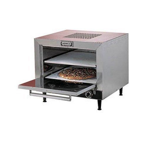 """Nemco (6205-240) 25"""" Countertop Pizza Oven w/ Square Stone Decks"""
