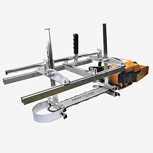 Carmyra Portable Chainsaw Mill 36 Inches Planking Milling Bar Size 14 Inches to 36...
