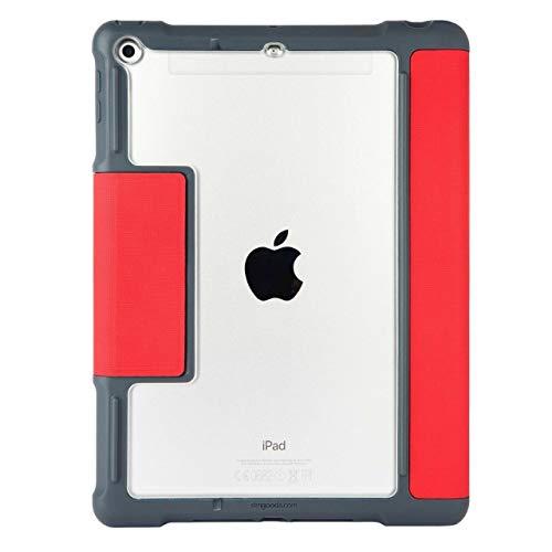STM Dux Plus Duo - Funda tipo libro para iPad de 9,7', color rojo