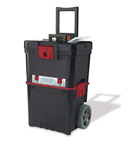 KETER Caja de herramientas con ruedas Hammer Mastercart con organizador