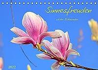 Sinnesfreuden (Tischkalender 2022 DIN A5 quer): Makroaufnahmen von heimischen Wildblumen (Monatskalender, 14 Seiten )