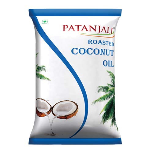 Patanjali Roasted Coconut Oil, 1L