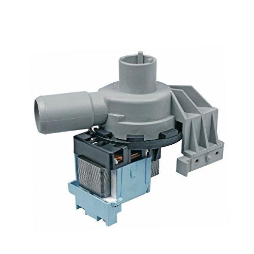 Europart 10003949 Ablaufpumpe Wasserpumpe Pumpenmotor Synchronpumpe Entleerungspumpe Magnettechnikpumpe Magnetpumpe Laugenpumpe Pumpe 30W Waschmaschine passend wie Siltal 49568601