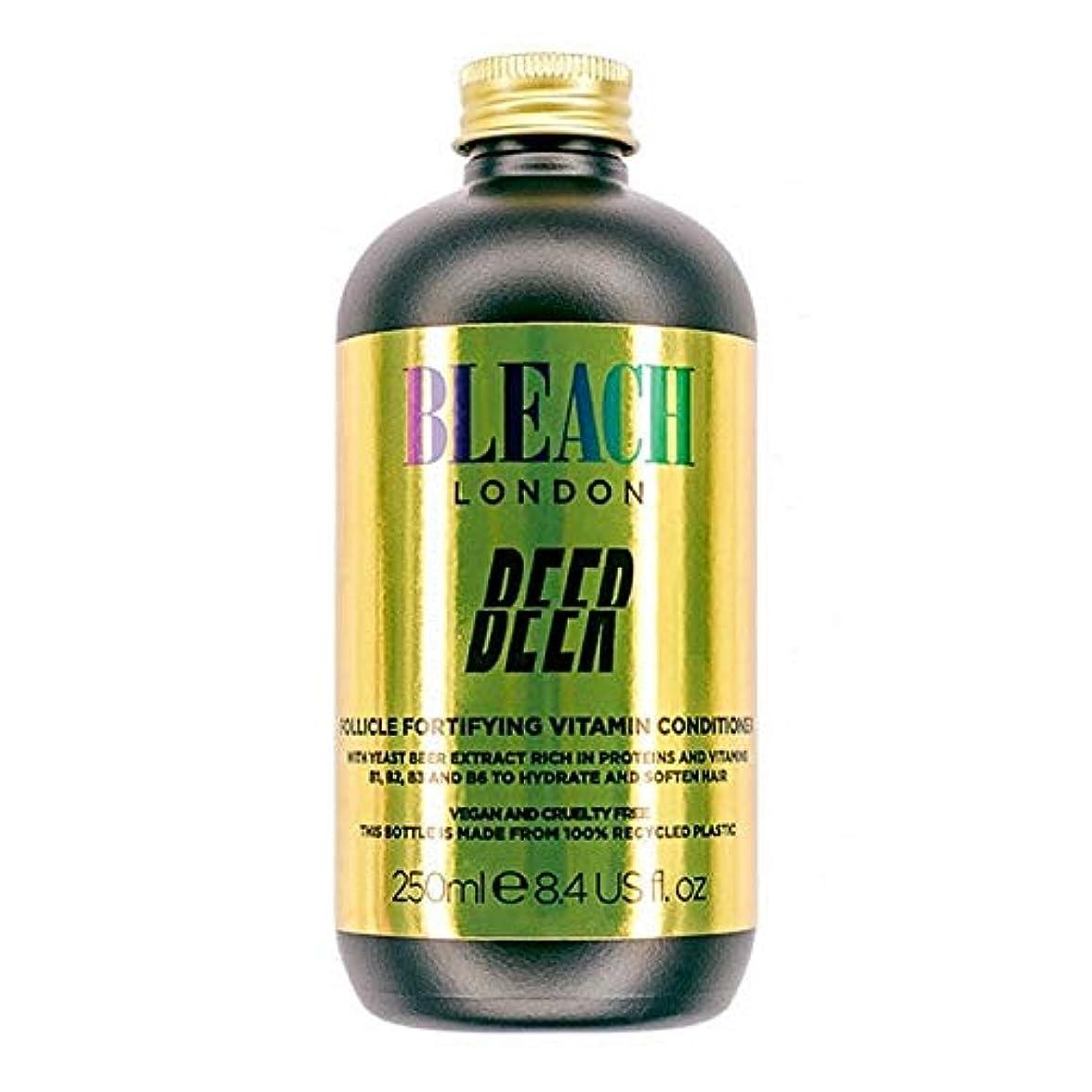 リマモロニック絞る[Bleach London ] コンディショナー250Mlを強化漂白ロンドンのビールFolicle - Bleach London Beer Folicle Fortifying Conditioner 250ml [並行輸入品]