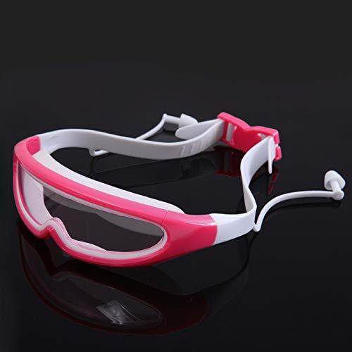 FIRMLEILEI Taucherbrille Anti Nebel Schwimmen Brille Schwimmen Pool Schwimmen Sport Wasserbrille Brillen mit Ohrstöpsel Für Männer Frauen Jungen Mädchen Schwimmzubehör (Color : 3)