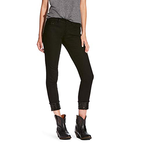 Ariat Women's Ultra Stretch SkinnyJean, Blackout Black Out, 29 R