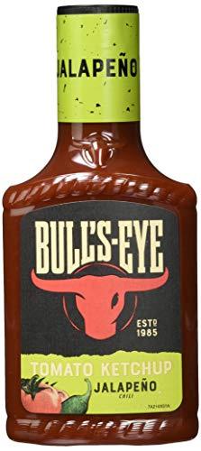 Bull's Eye Tomato Ketchup Jalapeño Chili (1 x 425 ml)