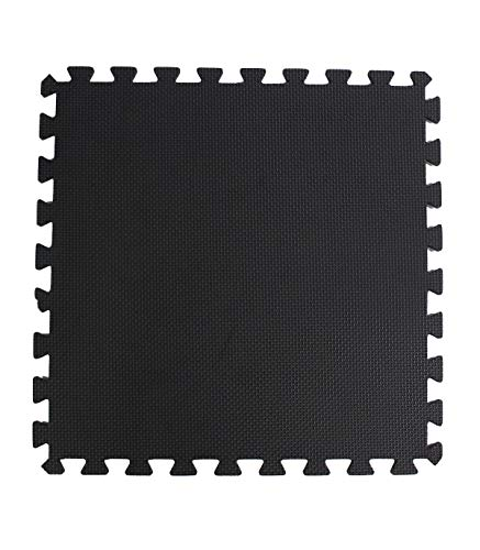 Riscko Wonduu Esterilla Puzzle para Suelo De Goma Espuma de | Tatami Puzzle Ajustable | 60 X 60 Cm Set 4 Uds. | Densidad Media