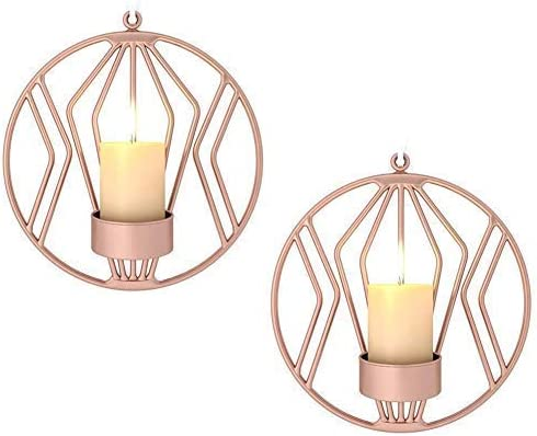 HAOT Courier shipping free shipping Set of 2 Our shop most popular Wall Candle Holders for Room sconces Living