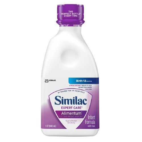 Image of 5257512EA - Similac Alimentum Expert Care Ready To Feed 1 Qt.