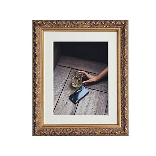 Tailored FRAMES-VIENNA goud, vintage luxueus Shabby Chic fotolijst, afmetingen 70 x 50 cm voor A2