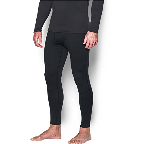 Under Armour Men's Base 4.0 Leggings, Black/Steel, Medium