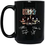 Crazy Rock Band End Of The Road Final Tour Taza de café - Negro Regalo perfecto para fanático leal Amante Amante Madre Padre Novio Amante en Navidad