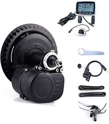 TongSheng TSDZ2 36V 350W Motore Elettrico eBike Kit di conversione Bici elettrica Senza Leva del Freno e acceleratore a Pollice (Versione Normale 350 W con Display VLCD6)