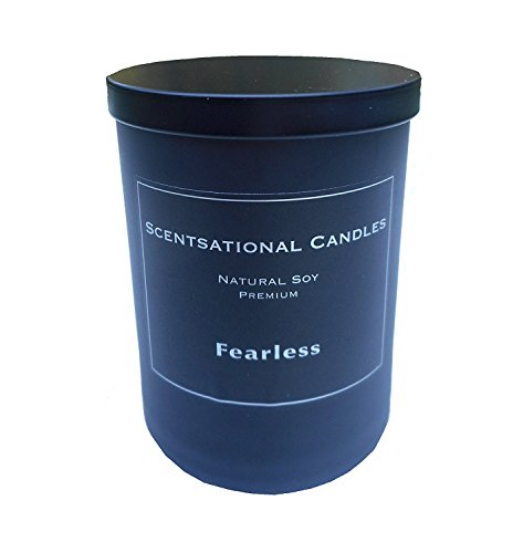 Scentsational Candles Fearless Candle, Black