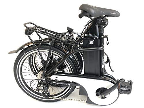 41SamVGQxLL - GermanXia E-Bike E-Faltrad/Klapprad Mobilemaster Touring CH 7G Shimano 20 Zoll mit Drehmoment-/Bewegungssensoren, eTurbo 250 Watt HR-Antrieb, bis zu 156 km Reichweite nach StVZO