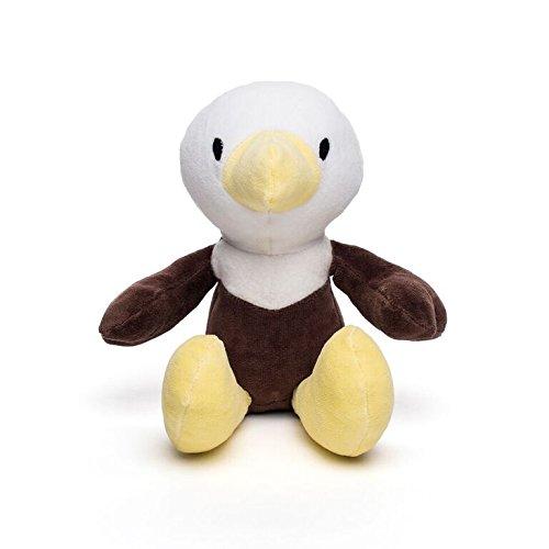 Bears For Humanity Organic Bald Eagle Animal Pals Plush Toy, Brown, 12'