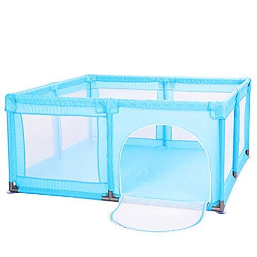 WYQ Aire de Jeu Bleue pour clôtures pour bébé (Parc pour bébé, Tapis de sécurité) Aire de Jeu sécuritaire pour bébés et Enfants (4 Tailles à Choisir Parc pour bébé