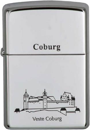 Original Zippo Feuerzeug Coburg - Veste Coburg