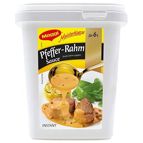 Maggi Meisterklasse Pfeffer-Rahm Sauce, 750 g