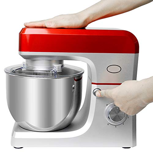 YAR-SHAVER Planetary Food Mixer 7 L,Electric Dough Mixer 1200V,Cake Mixer Dough Kneading Machine Househol Chef Machine Egg Beater