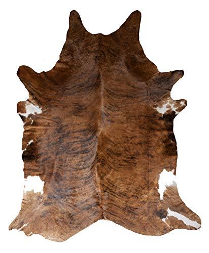 IPEA - Alfombra de auténtica piel de vaca, tamaño 260 x 230 cm (4.5 metros cuadrados aprox, el color puede variar)
