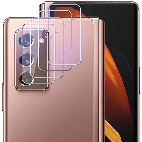 Miimall [4 Stück Kamera Panzerglas Schutzfolie für Samsung Galaxy Z Fold 2, HD Transparenz Anti-Kratzen 9H Festigkeit Gehärtetem Glas Kamera Bildschirmschutzfolie for Samsung Galaxy Z Fold2 5G 2020