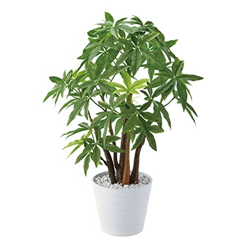 観葉植物 フェイクグリーン 人工観葉植物 パキラ ポット 造花 おしゃれ ツリー 店舗装飾 小型 鉢付 フェイク グリーン インテリア 55cm