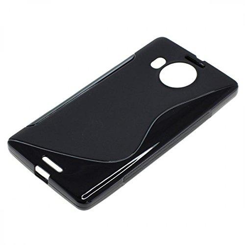 OTB TPU Hülle für Microsoft Lumia 950 XL S-Curve schwarz