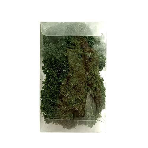 MOVKZACV Grasbüschel Sandtisch-Set, DIY Sandtisch Miniatur-Büsche und Bäume, Sandtisch Simulation Landschaftsbaum, DIY Wargaming Terrain Bäume