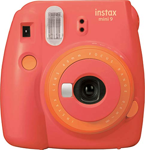 Fujifilm Mini 9 Instant Camera - Coral...